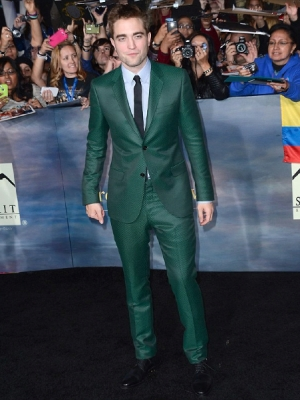Rob at Los Angeles 'Breaking Dawn Part 2' Premiere 2012