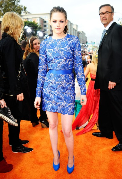 Kristen in Stella McCartney at the 2012 Kids' Choice Awards