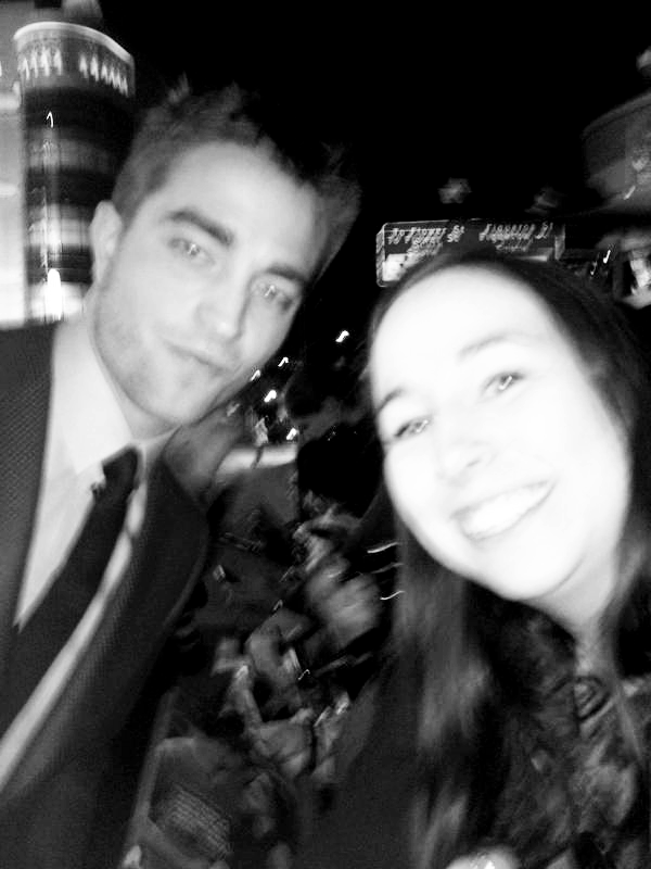 Me and Rob at BREAKING DAWN PART 2 L.A. Premiere