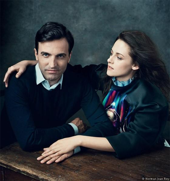 Kristen-Stewart-with-designer-Nicolas-Ghesquiere-Vogue-Norman-Jean-Roy-0812