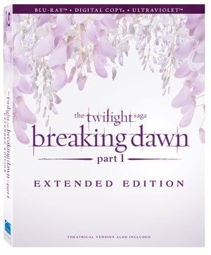 """The Twilight Saga: Breaking Dawn Part 1″ Extended Edition (8 Extra Minutes of Footage!)"